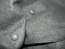 vintage Swiss military army uniform wool coat for men from 1976 / 78 / 83