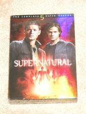 Supernatural: The Complete Fifth Season DVD New Sealed