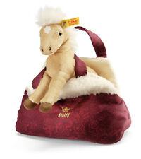 Steiff Franzi Haflinger Cavallo con Borsa 20cm giocattolo peluche Regalo Bambino EAN 070488 NUOVO