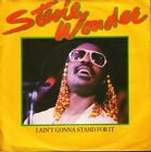 """STEVIE WONDER i ain't gonna stand for it 7"""" PS EX/VG uk"""