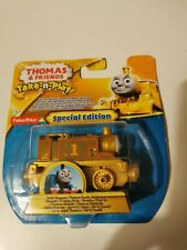 Thomas & Friend Take-n-play special edition golden Thomas Brand New