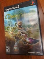 Dawn of Mana (Sony PlayStation 2, 2007) PS2 Video Game Complete w/ Manual TESTED