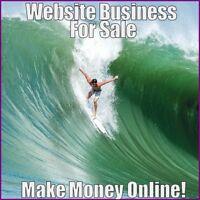SURFING Website Earn $45.44 A SALE FREE Domain FREE Hosting FREE Traffic