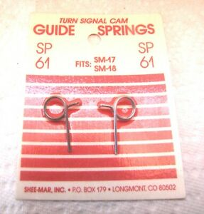 New 1967-1973 GM and 1971-1980 IHC Scout Turn Signal Cam Springs