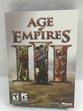 Age of Empires III, 3, Microsoft, PC CD-ROM