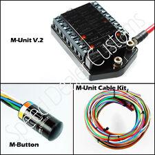 Motogadget MG4002033 M-Unit V.2, M-Unit Cable Kit, and m-Button Combo