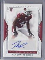 2017 National Treasures Autograph #115 Haason Reddick 30/99 Auto RC - Flat S/H