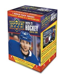 2020/21 Upper Deck Series 2 NHL Ice Hockey card Box BRAND NEW