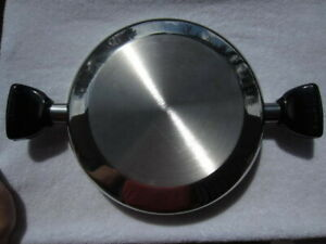 """Saladmaster 11 1/2""""  Dome lid top Stainless Steel"""