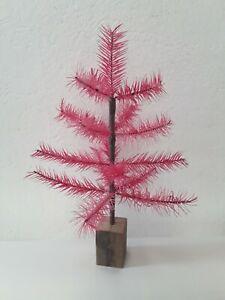 Gansfederbaum (Goose Feather Tree) nach Vorbild aus 19. Jahrhundert in PINK