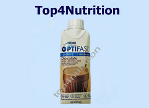OPTIFAST 800 READY-TO-DRINK SHAKES - CHOCOLATE - 24 SERVINGS - NEW & FRESH