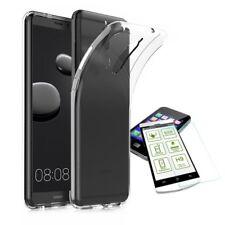 Silikoncase Transparent + 0,3 H9 Panzerglas für Huawei Mate 10 Pro Tasche Hülle