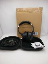 Nakamichi ANC 80 Noise-Cancelling Headphone Black See Pictures