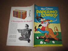 WALT DISNEY ALBO D'ORO N°34 PAPERINO COWBOY 1954