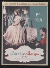 NEUF DVD LUCRÈCE BORGIA 1940 CINÉMA ITALIEN ISA POLA CARLO NINCHI sous blister