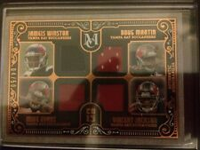2015 Topps Museum Four-Player Quad Relic WINSTON, MARTIN, EVANS and JACKSON 4/50