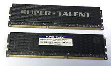 Memory/Ram Super Talent 8GB 2x4GB DDR3-1333 PC3-10600 WB133UB4G9 DIMM 240PIN CL9