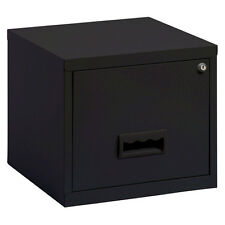 Pierre Henry Maxi desktop single drawer A4 filing cabinet - Black
