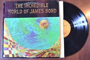 Incredible World Of James Bond 007 Record lp original vinyl album