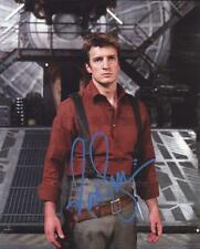NATHAN FILLION as Mal Reynolds  Serenity/Firefly GENUINE AUTOGRAPH UACC (R17125)