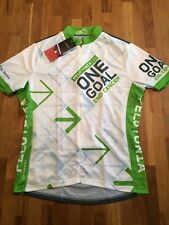 Women's Pelotonia Cycling Jersey - Primal Wear - Size Large - 3/4 Zip - BNWT