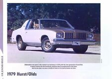 1979 Oldsmobile Cutlass Hurst/Olds 350 ci info/specs/photo/price production 11x8