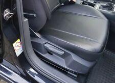 2x Maß Sitzauflage Sitzbezüge Schwarz Kunstleder für Mercedes CLS-Klasse X290