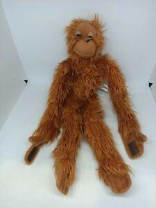 Korimco Kids Children Long Hanging Orangutan Large Monkey Plush Soft Stuffed Toy