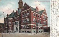 Postcard City Building Covington Kentucky 1907