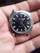 vintage F.H.B Calendar caliber BRAC 216 movement watch WORKING BUT RUN A LOT