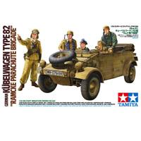 """Tamiya 35304 German Kubelwagen Type82 """"Ramcke Parachute Brigade"""" 1/35"""