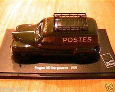 PEUGEOT FOURGONNETTE 203 1950 MUSEE LA POSTE PTT 1/43 NOREV EDITIONS ATLAS