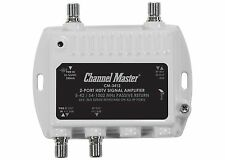 Channel Master Antenna Signal Booster Distribution Amplifier Ultra Mini CM-3412