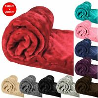 Luxury Super Soft Plush Large Throw Blanket Faux Fur Sofa Cover Warm 150x200cm