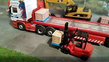 3d Printed Pallet With Large Crate Load 1/76.1/72 Scale And 00 Gauge