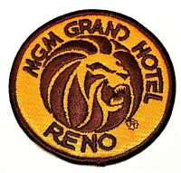 Vintage MGM Grand Hotel Casino Reno Employee Staff Patch NOS New