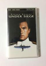 USED PSP UMD Video UNDER SIEGE JAPAN Sony PlayStation Portable import Japanese