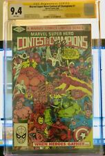 Marvel Super Hero Contest of Champions #1 CGC 9.4 1982. Signed by Romita JR.