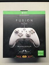 PowerA Fusion Pro Wired Controller For Xbox One/ Series X/S & Windows 10 - White