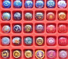 30 CAPSULES de CHAMPAGNE FRANCE REIMS toutes différentes VIN Vigne MUSELET Lot11