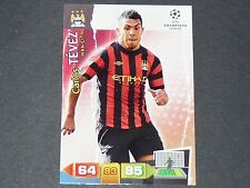 TEVEZ MANCHESTER CITIZENS UEFA PANINI CARD FOOTBALL CHAMPIONS LEAGUE 2011 2012