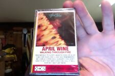 April Wine- Walking Through Fire- new/sealed cassette tape