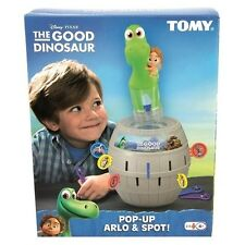 New - Disney The Good Dinosaur POP-UP ARLO & SPOT Classic Game of Chance by TOMY