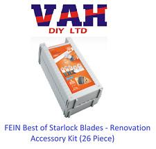 Fein 35222967060 Starlock Multi Tool Ristrutturazione Set 26pc