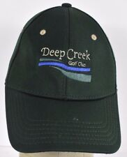 Green Deep Creek Golf Club Punta Gorda Embroidered Baseball hat cap adjustable