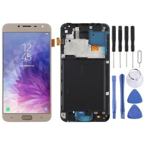 For Samsung Galaxy J4 J400F TFT Screen Touch Digitizer Assembly With Frame GOLD