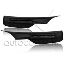 For 16-17 Honda Accord 4 Door Sedan Bumper LED Fog Lights w/Wiring Kit - Smoke