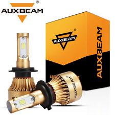 AUXBEAM Series F-S3 H7 CSP LED Headlight Bulbs Kit 72W 8000LM 6000K White