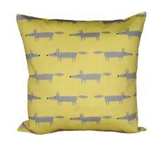 Scion Litrtle Fox Sunflower Yellow Cushion Cover 16''