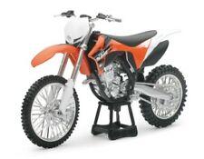 Sunimport modelo moto modelo bike KTM EXC-F 350 2018 escala 1:12 naranja